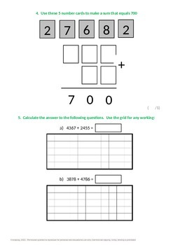 Addition and Subtraction:  Formal methods
