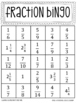 Addition and Subtraction Fraction Bingo