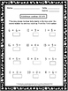 Addition and Subtraction Freebie