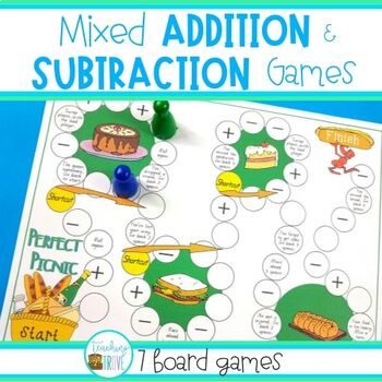 image regarding Addition and Subtraction Games Printable titled Addition and Subtraction Video games