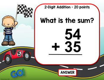 Addition and Subtraction Game: Addition and Subtraction PowerPoint Game