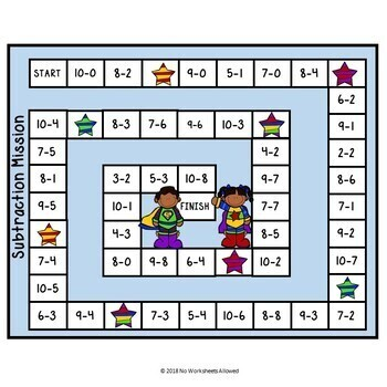 Superhero Addition and Subtraction Games and Activities Bundle