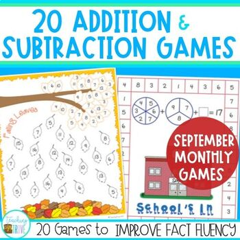 Addition and Subtraction Games - September