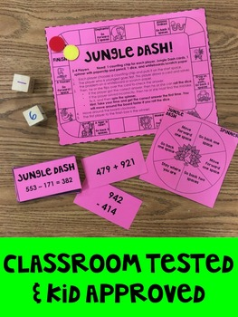 Addition and Subtraction Games for Third Grade