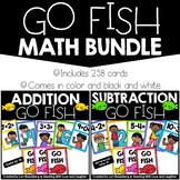 Addition and Subtraction Go Fish Bundle