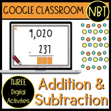Addition and Subtraction Google Classroom Activities (self