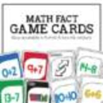 Addition & Subtraction Gotcha : Fun Math Fact Fluency Games for the Classroom