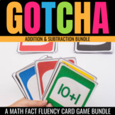 Addition & Subtraction Gotcha: Math Fact Fluency Games for the Classroom