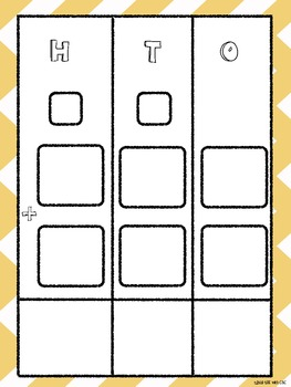 Addition and Subtraction Graphic Organizers (freebie!)
