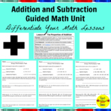 Addition and Subtraction Guided Math Lessons