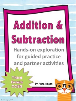3rd Grade Addition and Subtraction Hands-On Activities