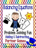 Addition and Subtraction Hands-On Problem Solving Games For Partners
