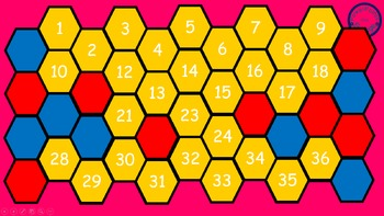 Addition and Subtraction Hexagon Battle 0-10