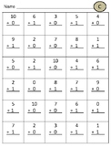 Addition and Subtraction Practice Worksheets (30 Problems each!)