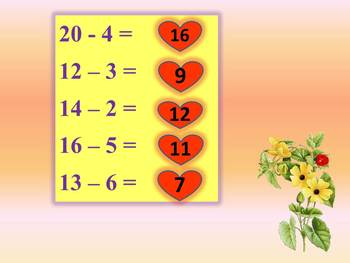 Math Addition and Subtraction PowerPoint Presentation Back to School Activities