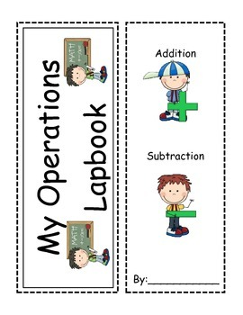 Addition and Subtraction Interactive Lapbook- Choose the O