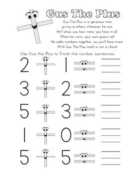 Addition and Subtraction Interactive Notebook