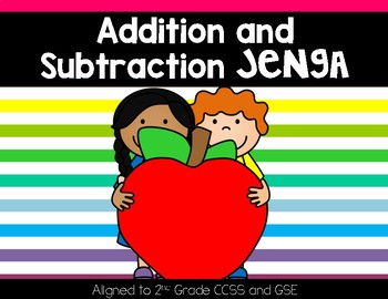 Addition and Subtraction Jenga