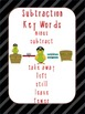 Addition and Subtraction Key Word Posters Pirate Theme