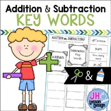 Addition and Subtraction Key Words: Cut and Paste