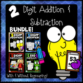 Back to School Addition and Subtraction Learning Packet Bundle