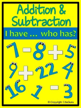 Addition and Subtraction Loopy Game