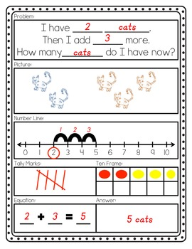Addition and Subtraction: Make Your Own Story Problems with Strategies