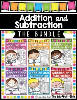 Addition and Subtraction (Mastering Math Facts) THE BUNDLE!