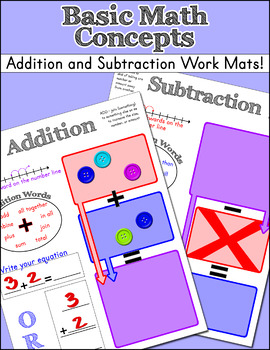 Addition and Subtraction Mat Worksheet