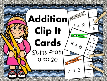 Addition and Subtraction Math Bundle