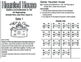 Math Center - Addition and Subtraction Activity up to 100