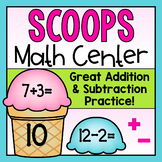 Addition and Subtraction Ice Cream Center