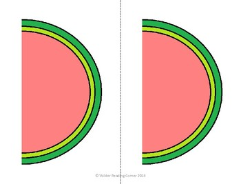 Addition and Subtraction Math Center- Watermelon Math- EASY PREP!