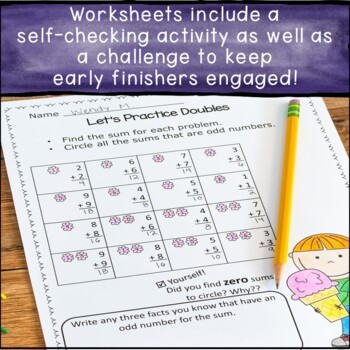 Addition and Subtraction Fact Fluency Activities - First  & Second Grade Math