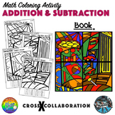 Addition and Subtraction Math Colouring Activity: Set C (Book)
