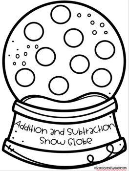 Addition and Subtraction Math Craft