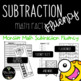 Addition and Subtraction Math Fact Fluency: Monster Theme
