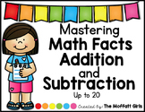 Addition and Subtraction Math Facts Booklets