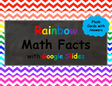 Addition and Subtraction Math Facts Flashcards with Answers for Google Slides