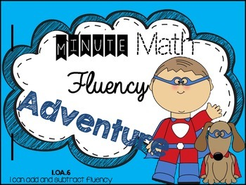 Addition and Subtraction Math Fluency Notebook