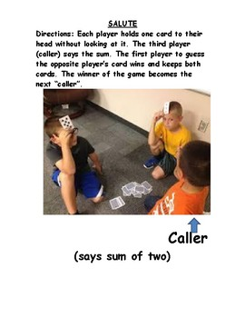 Addition and Subtraction Math Games