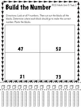 FREEBIE: Addition and Subtraction Math Tasks