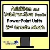 Addition and Subtraction Math Unit Bundle 2nd Grade Common Core
