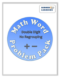 Addition and Subtraction Math Word Problem Pack