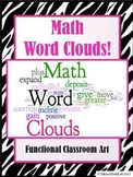 Addition and Subtraction Math Words~Activity and Classroom Art