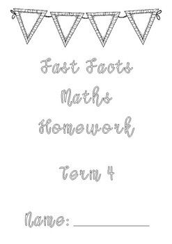 Addition and Subtraction Maths Homework Booklets (Full Year)