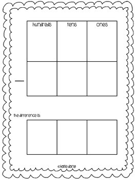 Addition and Subtraction Mats (regrouping or not)
