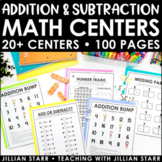 Addition and Subtraction Centers