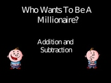 Addition and Subtraction Millionaire Game