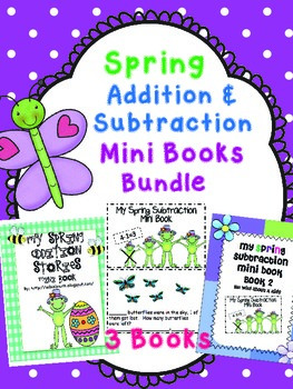 Addition and Subtraction Mini Book Bundle